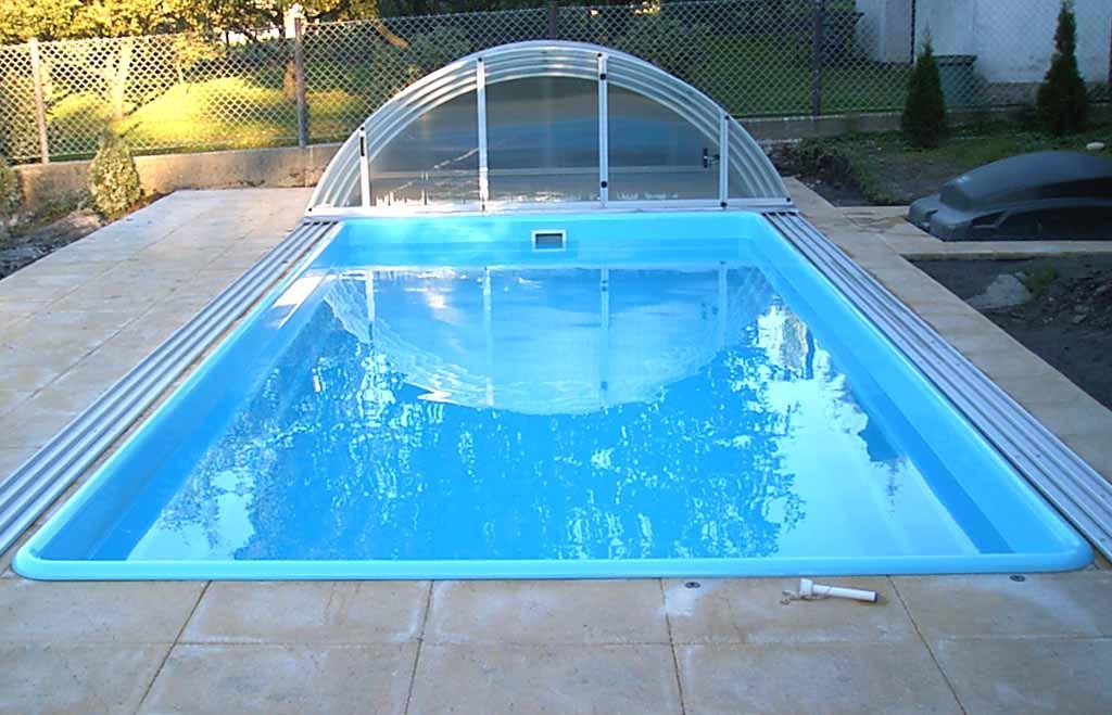 Sklolaminátové bazény ceník